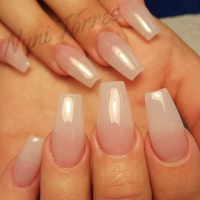 Nuni Torres Kissimmee Fl On Instagram Natural Tip Nails Perfect For Women Who Want A Acrylic Nails Coffin Ballerinas Natural Looking Acrylic Nails Nails