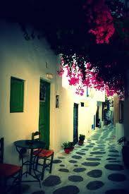 mykonos grecia calles