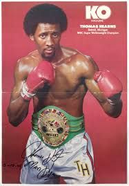 Thomas Hearns Is A Retired American Professional Boxer Nicknamed The Motor City Cobra And More Famously Professional Boxer American Athletes Boxing History