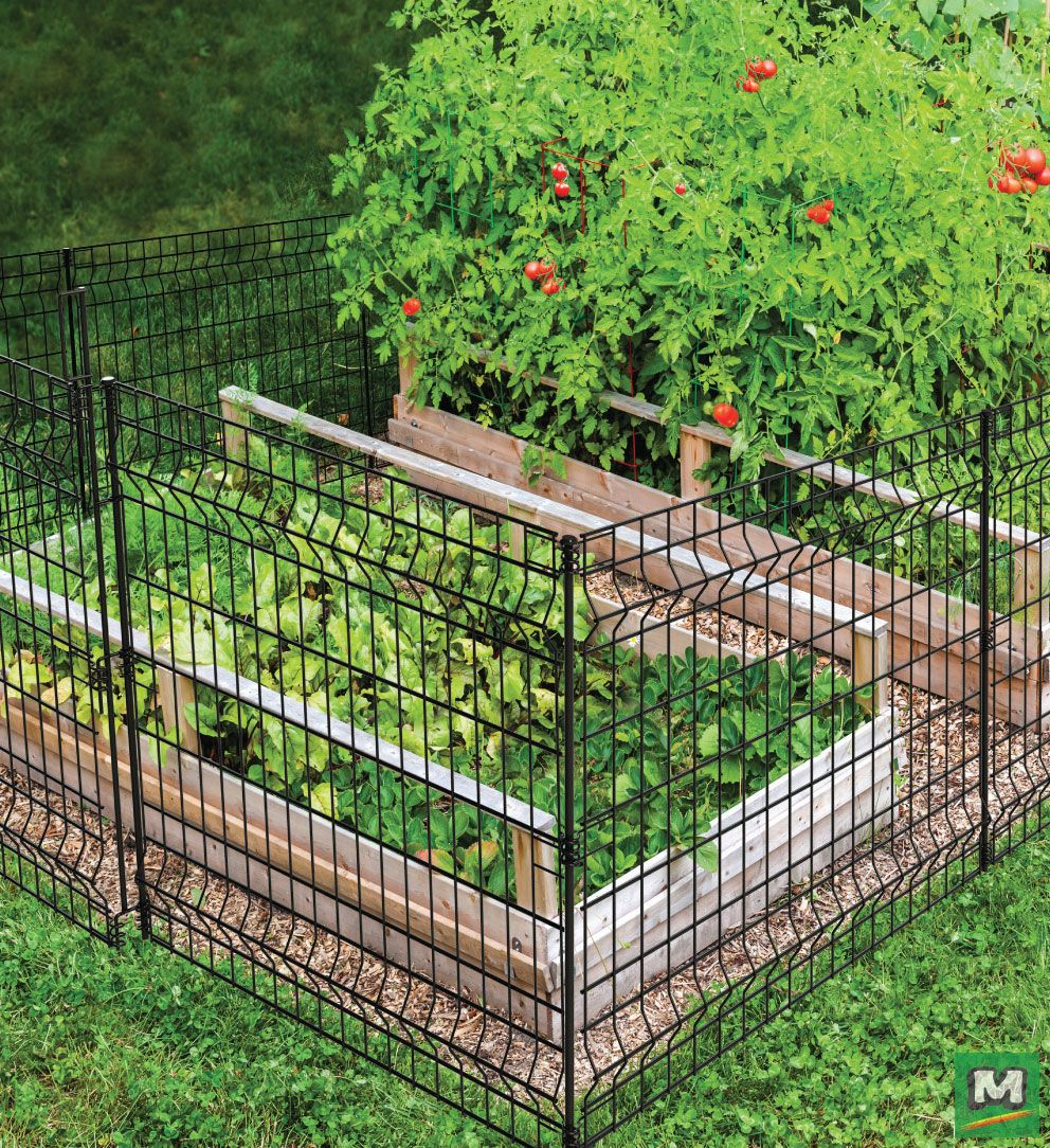 Looking For A Fence For Your Garden Look No Further This No Dig Fence Panel Is A Versatile Fencing Solu Quick Garden Landscaping Inspiration Landscape Design