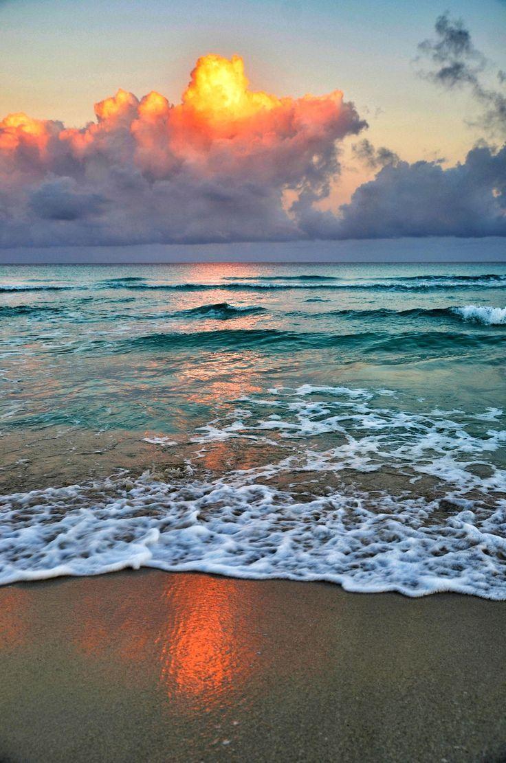 Early Morning On Varadero Beach Cuba