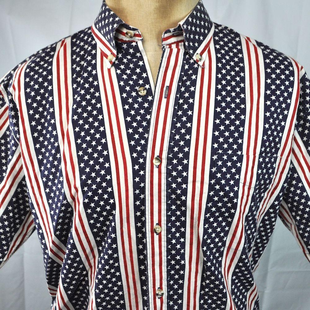 Paisley Bandana Flag T-shirt Old Glory USA Stars Stripes Men  Tee   Black