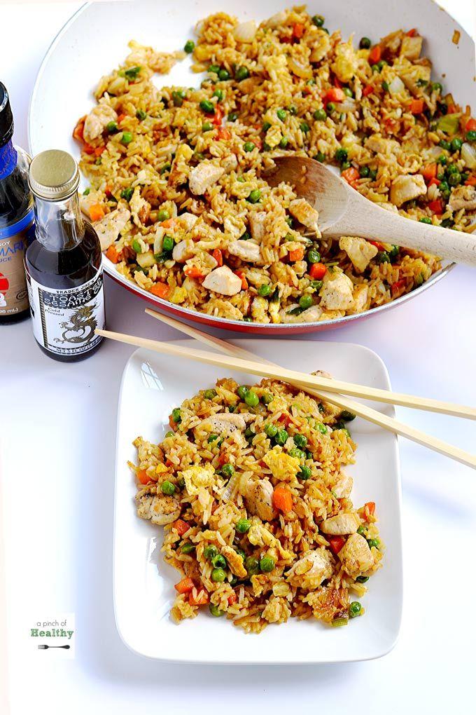 Chicken Fried Rice Recipe Weeknight Meals Pinterest Fried