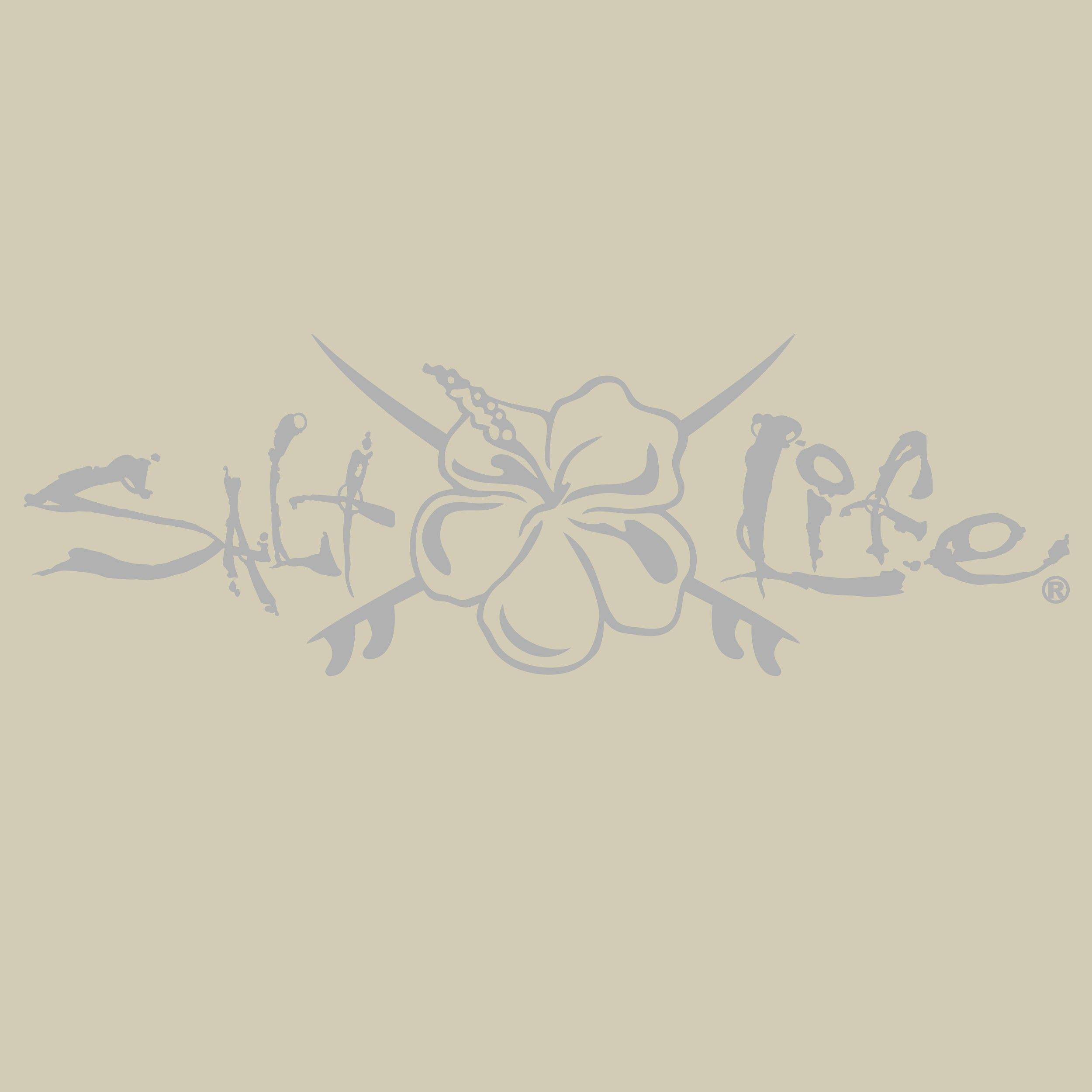 Salt Life Hibiscus And Boards Medium Decal Large Decal Salt Life Hibiscus [ 2500 x 2500 Pixel ]