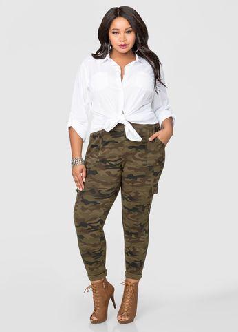 6782b8bf533 Camo Print Ponte Skinny Pant Camo Print Ponte Skinny Pant Big Girl Fashion