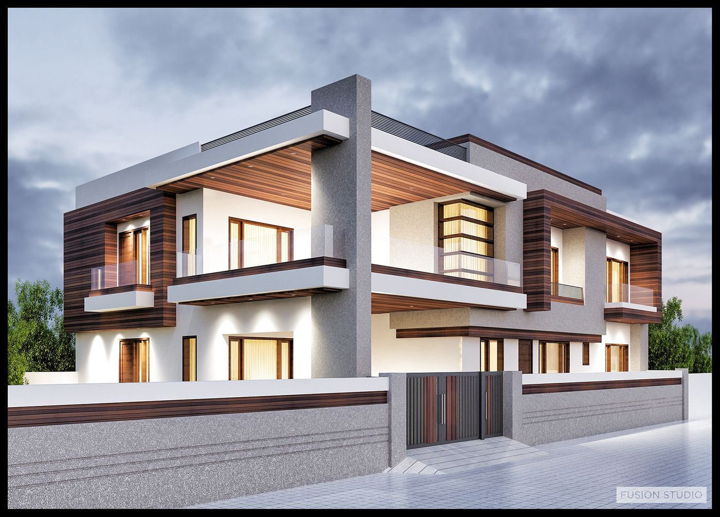 Front Elevation In Ludhiana : Architectural previsualization renders exterior