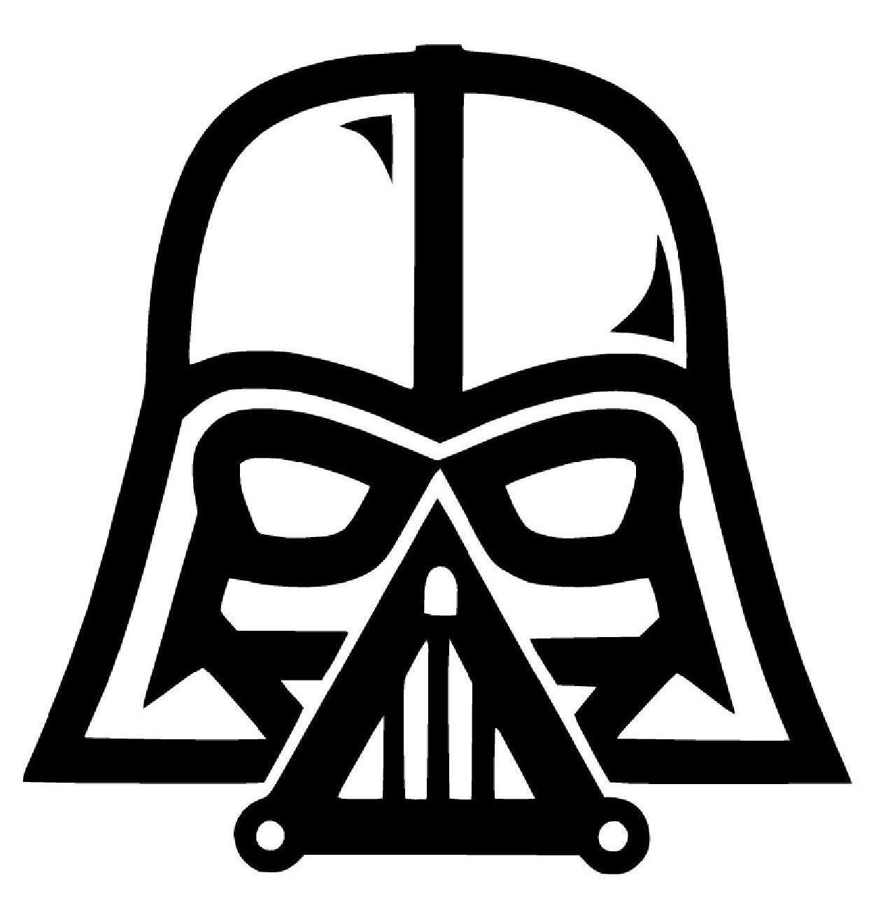 Darth Vader Star Wars The Force Awakens Vinyl Decal Sticker Car Rogue Window Star Wars Vinyl Decals Truck Bumpers [ jpg ]