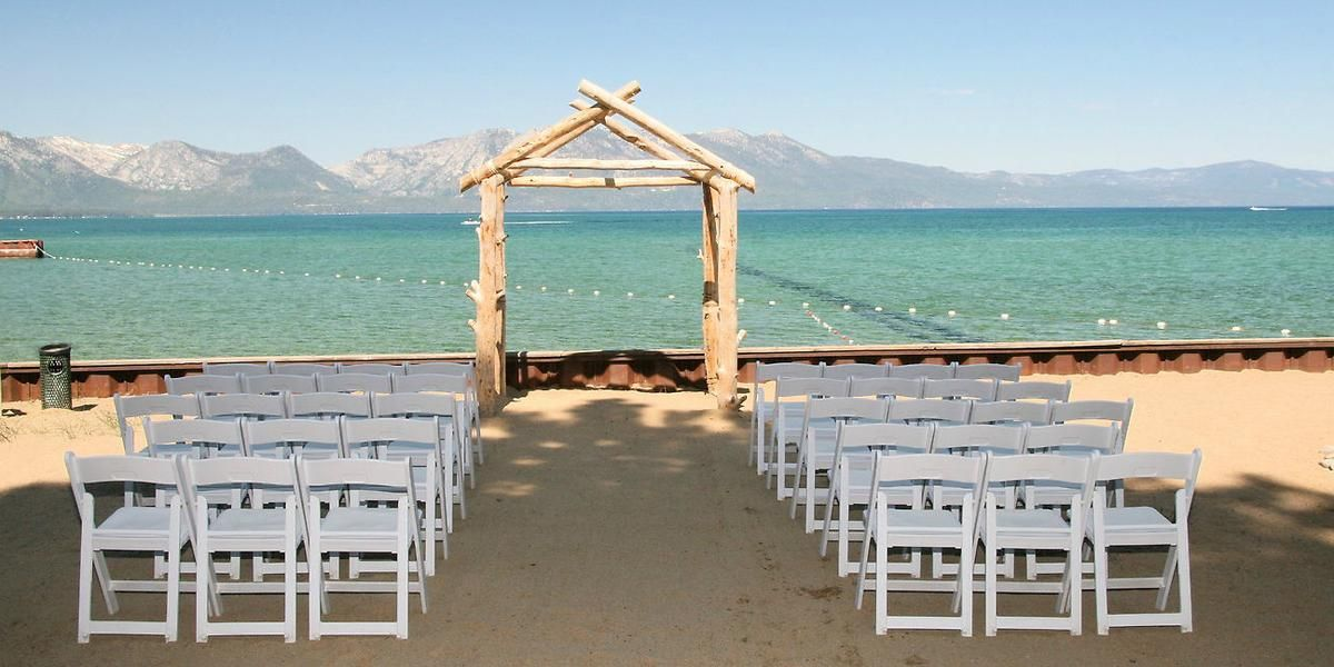 Weddings At Lakeside Beach Get Prices For Lake Tahoe Wedding Venues In South Ca