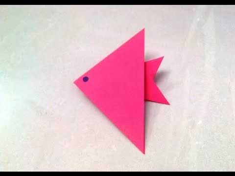 How To Make An Origami Paper Fish 1 Origami Paper Folding
