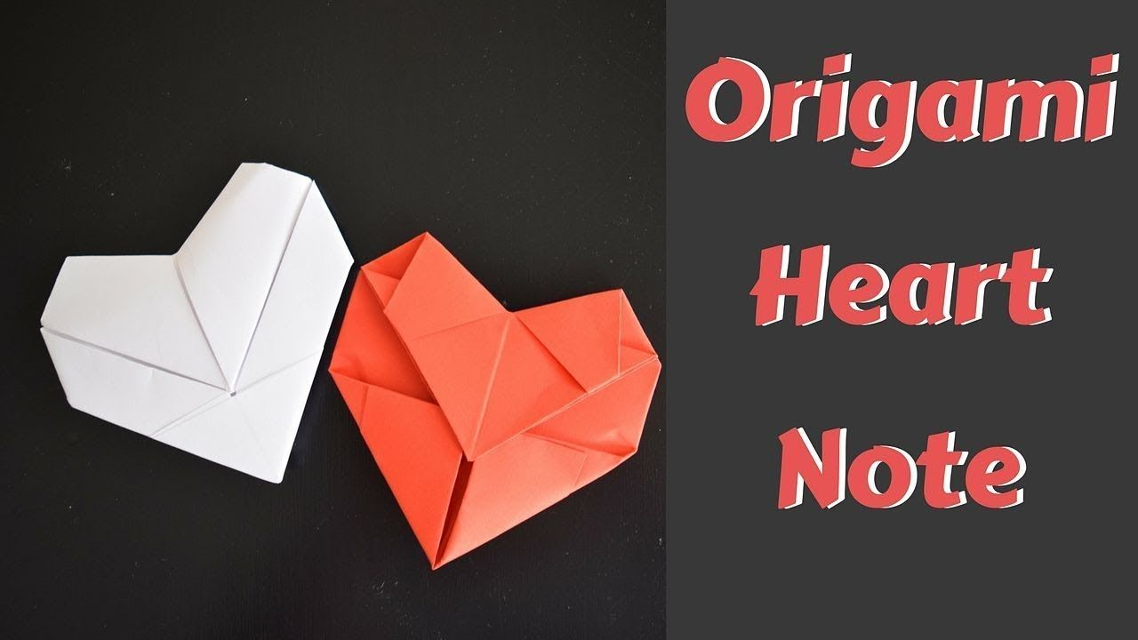 3 Different Origami Valentine Notes Fave Mom Origami Heart Origami Easy Easy Origami For Kids