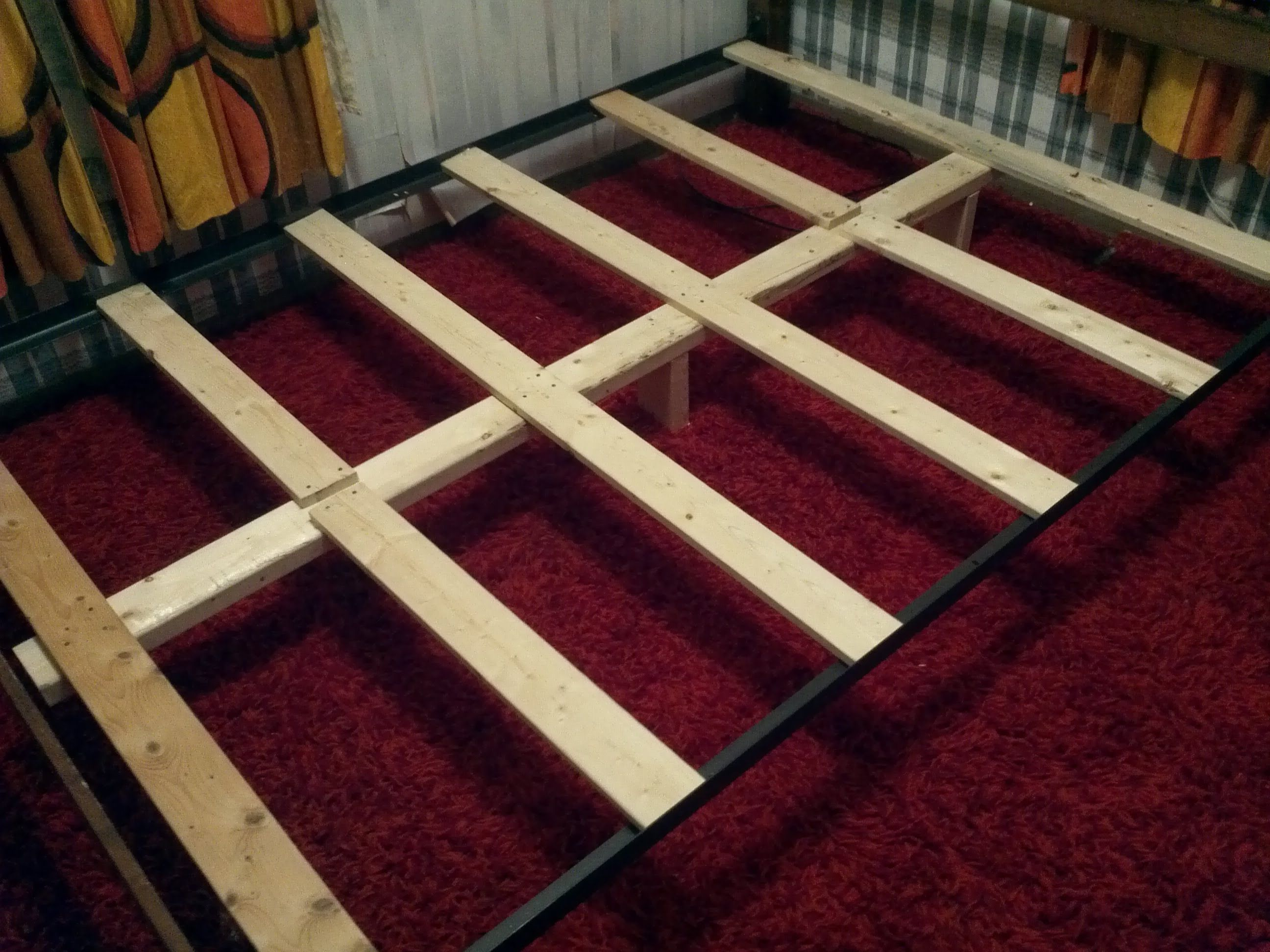 How To Support A Mattress Without Box Spring Build Diy Bed Frame For