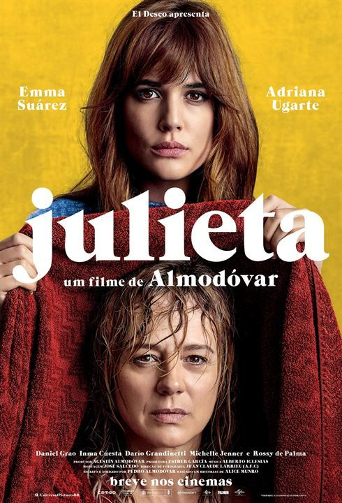Julieta Movie 2016 Director Pedro Almodovar Starring Adriana