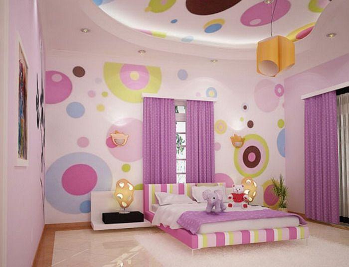 diseño cuartos para niña | Decoración habitaciones juveniles ...