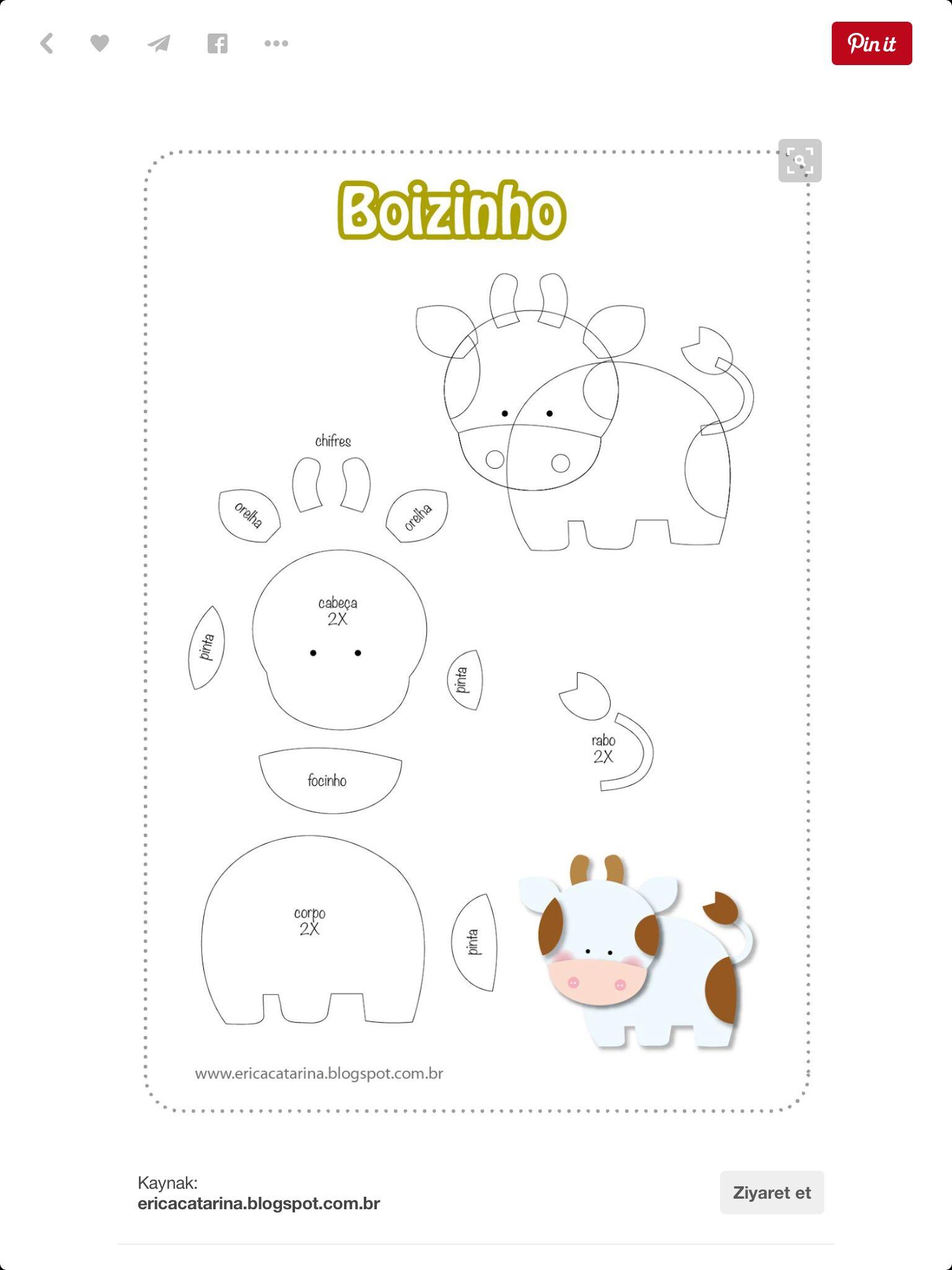 17+ Printable easy stuffed animal patterns ideas