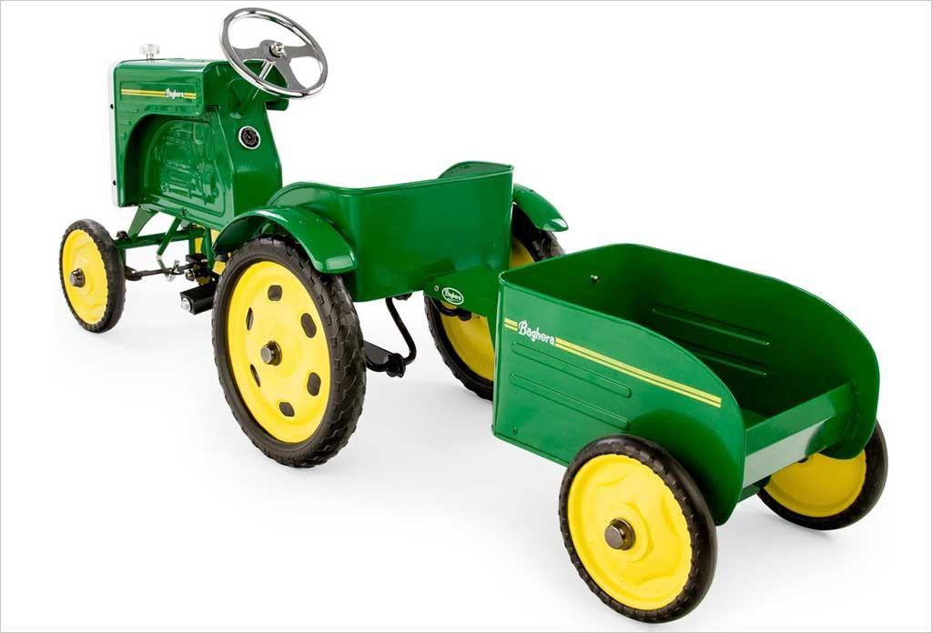 Tracteur Tractor Pedal À Aujourd'hui BagheraJouets Pédales PXuZik