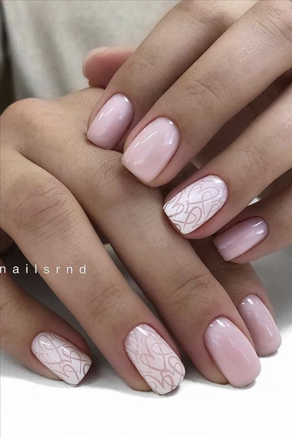 2020 some kinds of temperament short square nails – Fashion Girl'S Blog