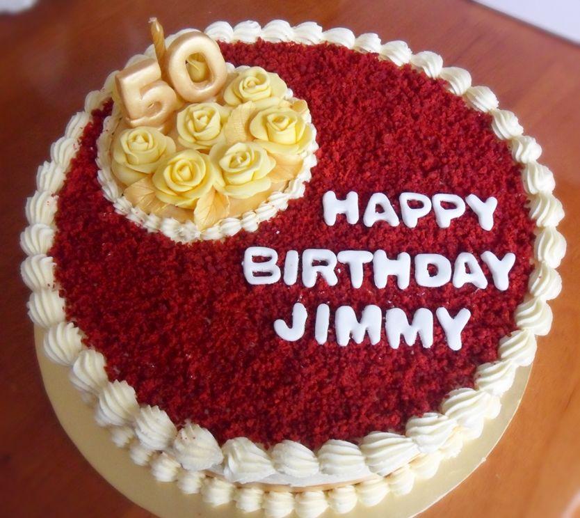 Design Of Red Velvet Cake : love the red on top Cool cakes Pinterest Birthday ...