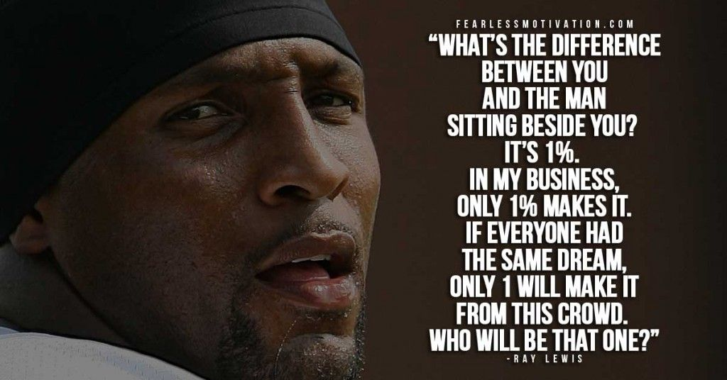 Ray Lewis Quotes About Football Quotesgram: The 10 Best Quotes Of A Champion