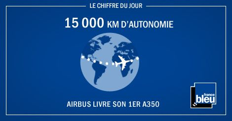 L'A350, le nouveau né d'Airbus.  France Bleu vous propose un reportage sur sa création : Fabrique-moi un A350