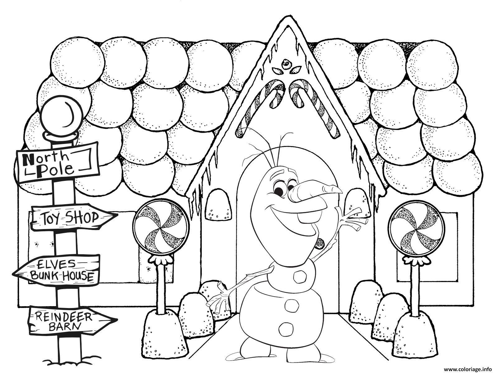 Coloriage Olaf.Imprimer Un Dessin De Noel Unique Idees Coloriage Olaf Noel
