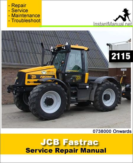 Download JCB 2115 Fastrac Service Repair Manual PDF   JCB ... on