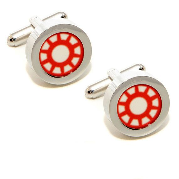 Iron Man Cufflinks - for the comic book lover in your group