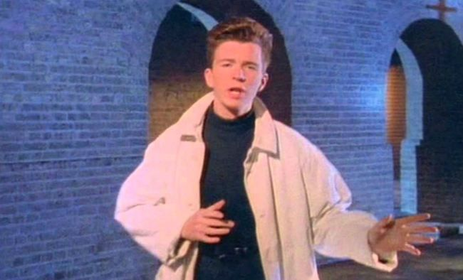 Rick Astley S Never Gonna Give You Up Without Music Proves The Existence Of The Musicless Rick Roll Rick Astley Rick Astley Never Gonna Rick Rolled