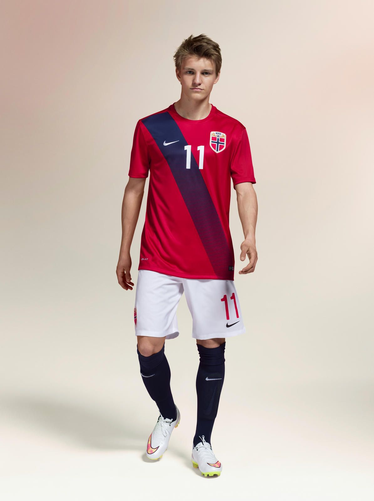 First Norway National Team Kits By Nike Honor Team S Heritage