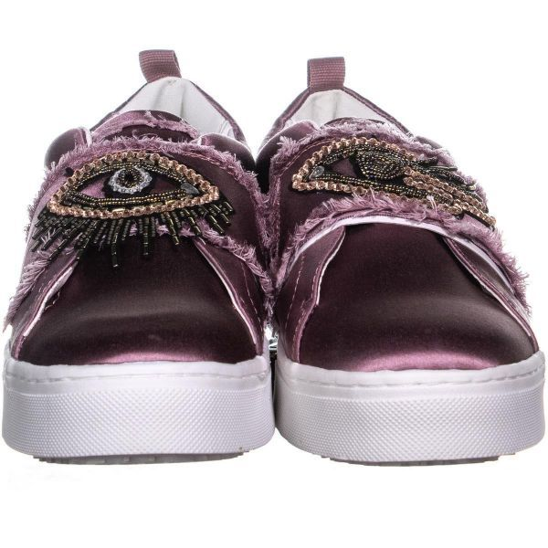 36eeb10b3 Sam Edelman Levine Low Top Platform Sneakers - Light Pink Eye   scarpettashoes  designers  athleisure  samedelman  eyes  slipon   slidesandals