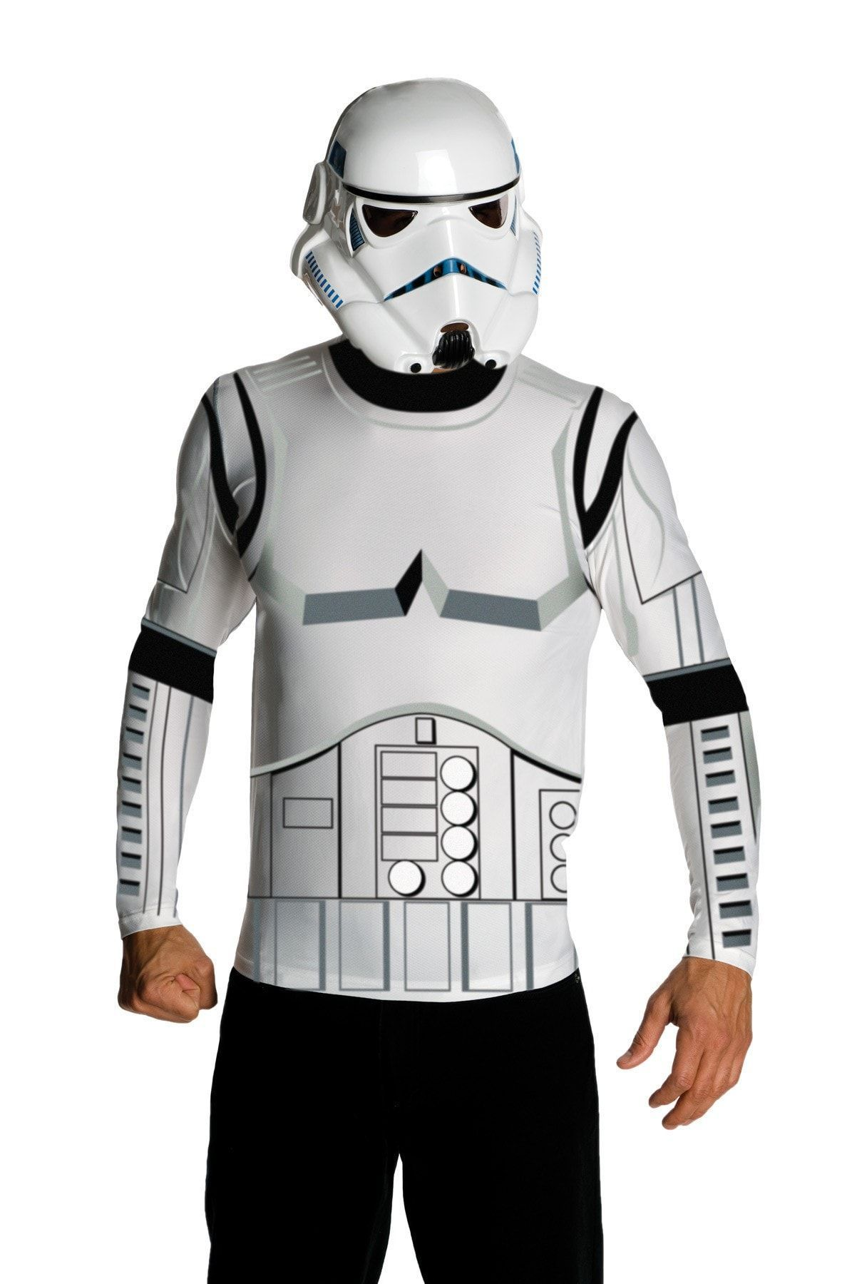 Stormtrooper Helmetk Adult Star Wars Costume Mask Fancy Dress