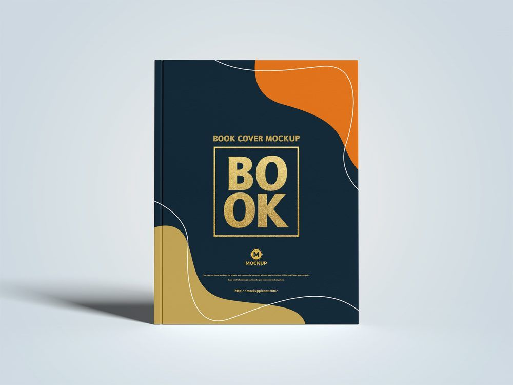 Letter Size Cover Branding Book Free Mockup Brand Book Book Cover Mockup Creative Book Cover Designs