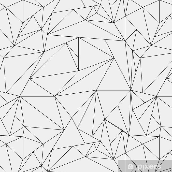 Tapeta Winylowa Geometryczne Proste Czarno Biale Minimalistyczny Wzor Trojkaty Lub Witraz Moze Byc Uzy Minimalist Pattern Geometric Phone Background Patterns