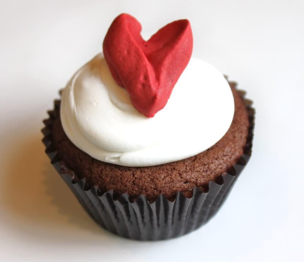 valentine cupcake toppers - Valentine Cupcake
