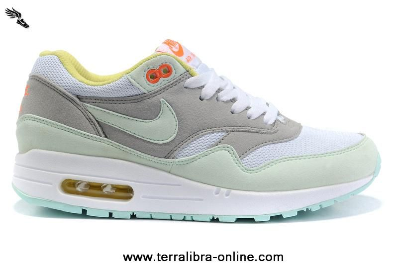 Nike Air Max 87 Womens Shoes Olive Gray White  cd84d00f5