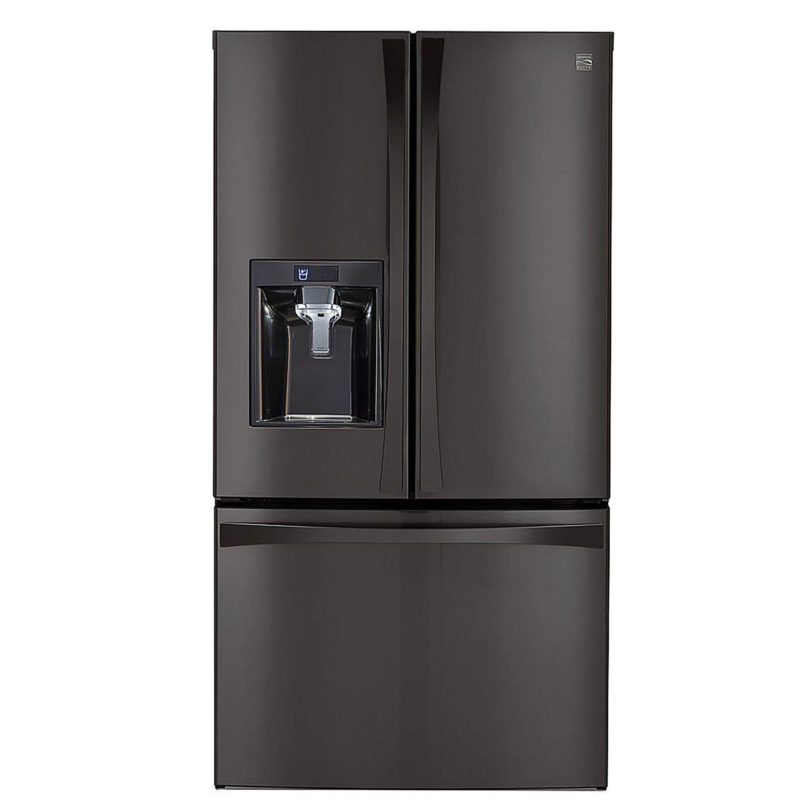 Kenmore Elite 29 8 Cu Ft French Door Bottom Freezer Refrigerator