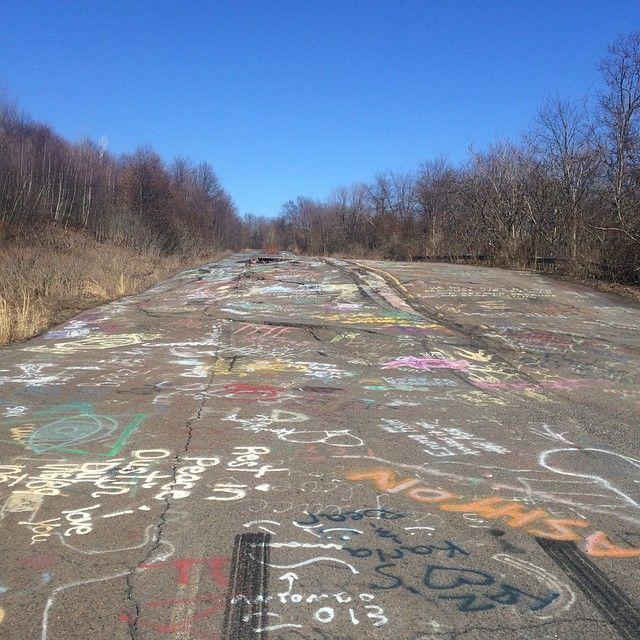 Abandoned Highway 61, Centralia, PA