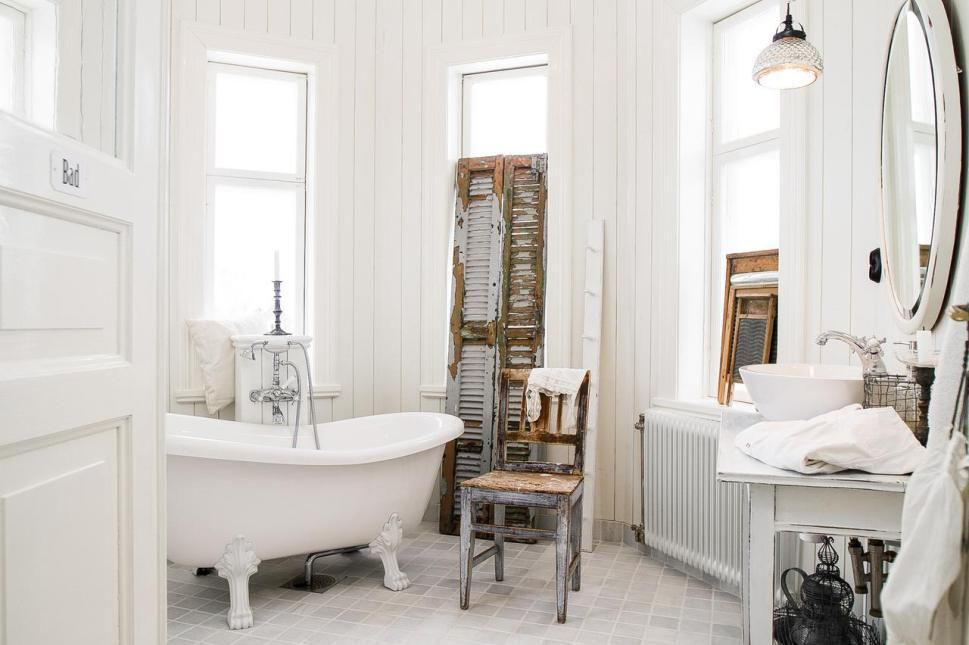 Stunning Salle De Bain Ancienne Retro Contemporary - Awesome ...