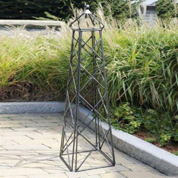 Obelisk and pyramid