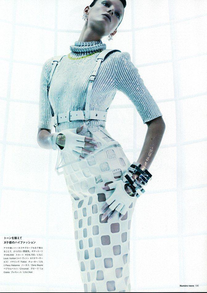 Ava Smith by Benjamin Lennox for Numéro Tokyo #66 May 2013