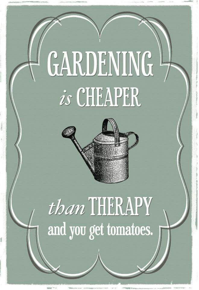 Gardening is therapy!