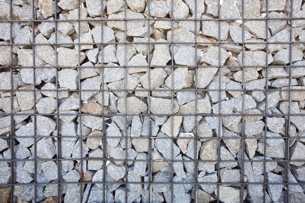 Gallery Of Pharmaceutical Abulense Cofabu Co 3 14ga 8 Gabion Wall Masonry Architecture
