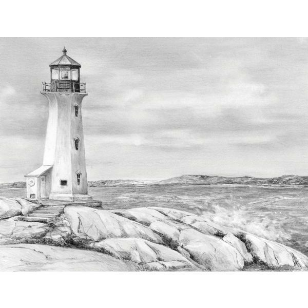 Sketching made easy kit 8 x 11 lighthouse point ebay