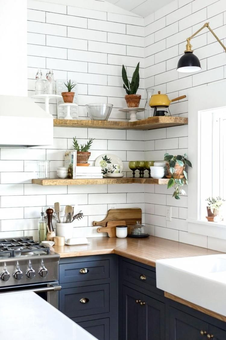 fascinating Rustic Kitchen Shelving Ideas Part - 17: 40 Awesome Rustic Kitchen Decor Open Shelves Ideas