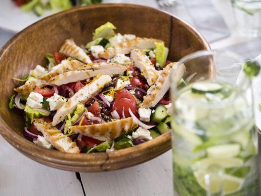 Gemakkelijke salade voor de eerste lentedagen!