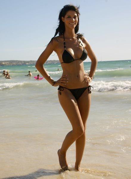 Most Beautiful Women Michaela Schaefer Beach Dress