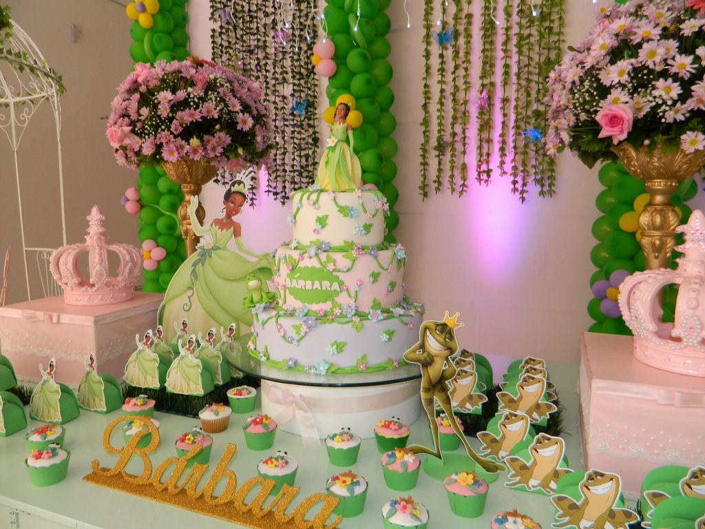 Festa A Princesa E O Sapo With Images Princess Tiana Birthday