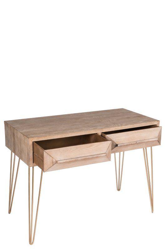 Union Rustic Corner Writing Desk