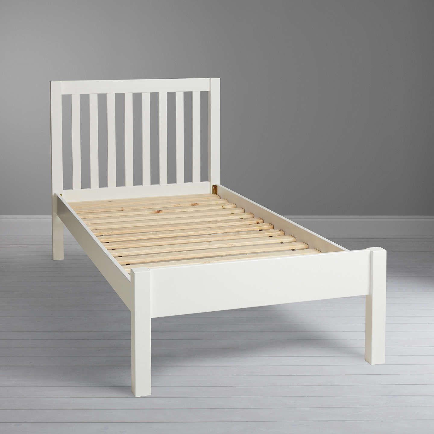John Lewis Wilton Child Compliant Bed Frame, Single At John