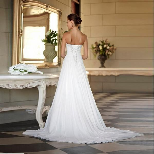 Gorgeous Cross Hand Ruched Bodice With Sweetheart Neckline