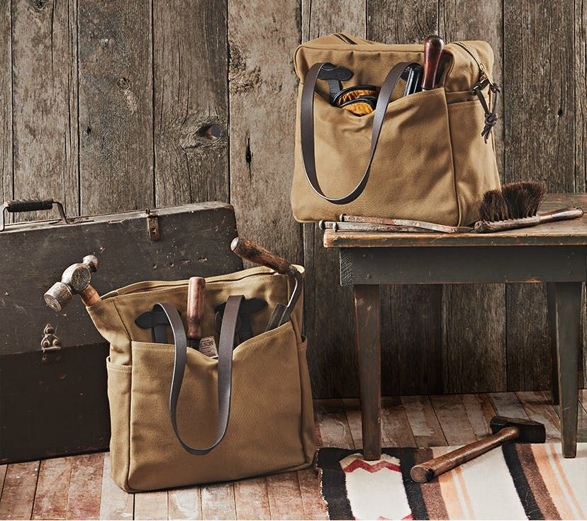 Filson Tote Bag Without Zipper Tan NEW